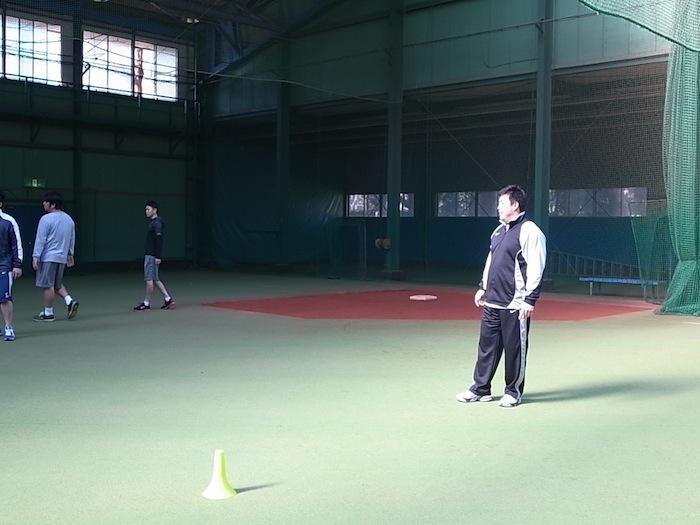 (左から)野茂さん、諸藤プロ、わたくし