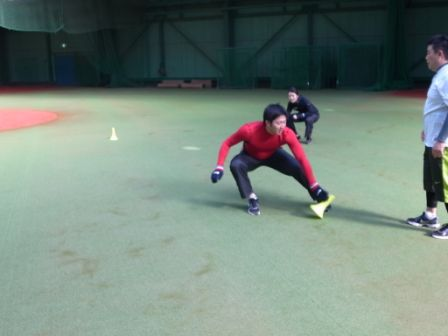 2013SPARQトレーニング 上本選手