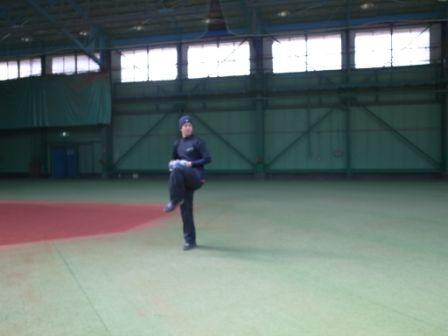 2013オフトレーニング 藤江選手