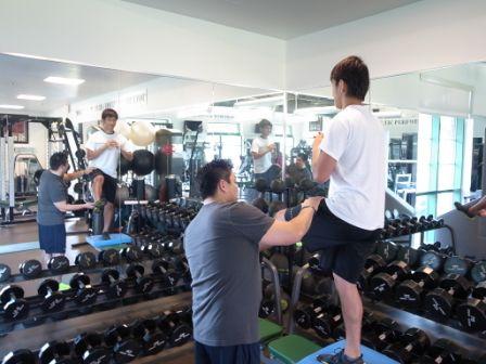 2013タンパトレーニング 櫻井選手