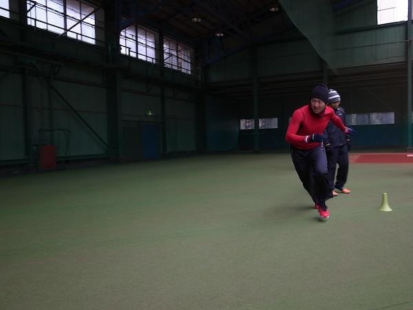 2014SPARQ Speed/Agility トレーニング 上本選手