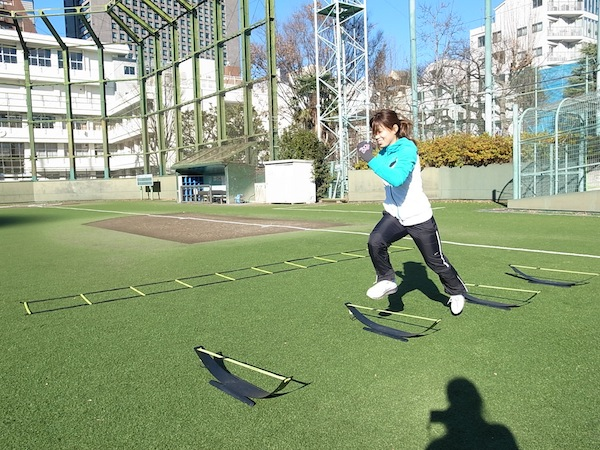 2014SPARQ Quickness/Agility 井上プロ
