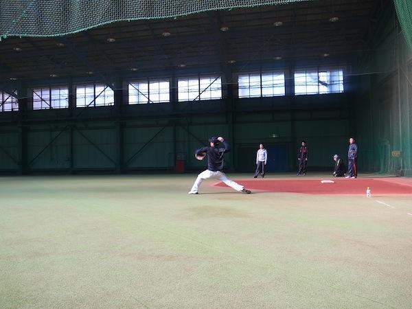 2014オフトレーニング 藤江選手