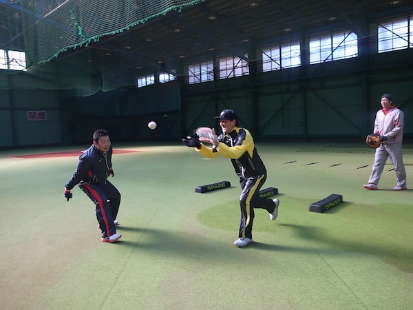2014SPARQ Reaction トレーニング 藤江選手