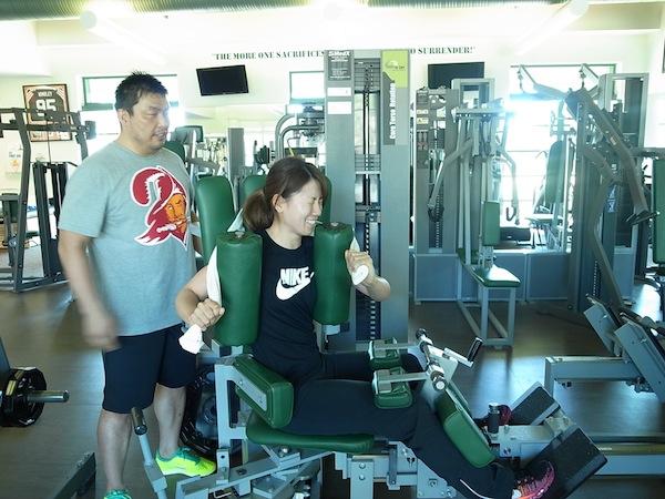 2014タンパトレーニング 井上プロ