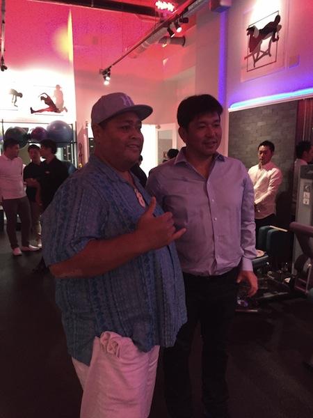 野茂さんとKONISHIKIさん