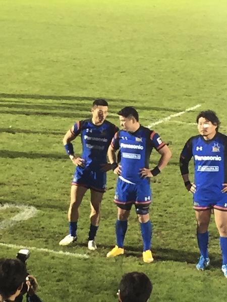西原選手対サントリー戦