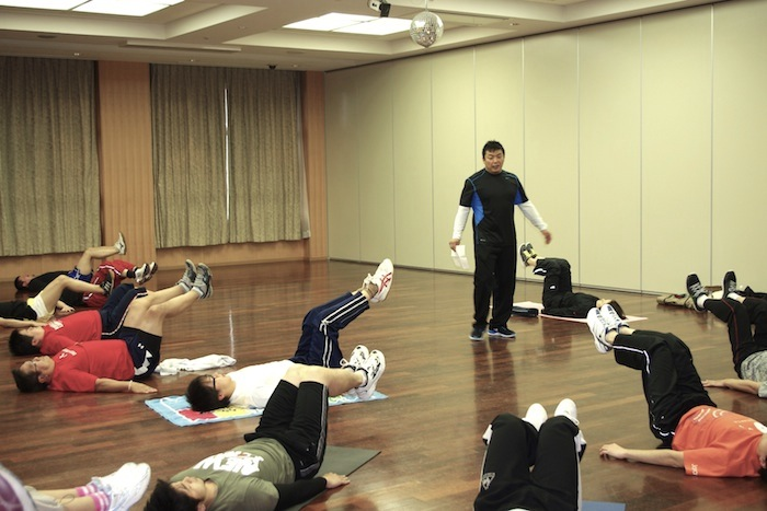 体幹のトレーニング