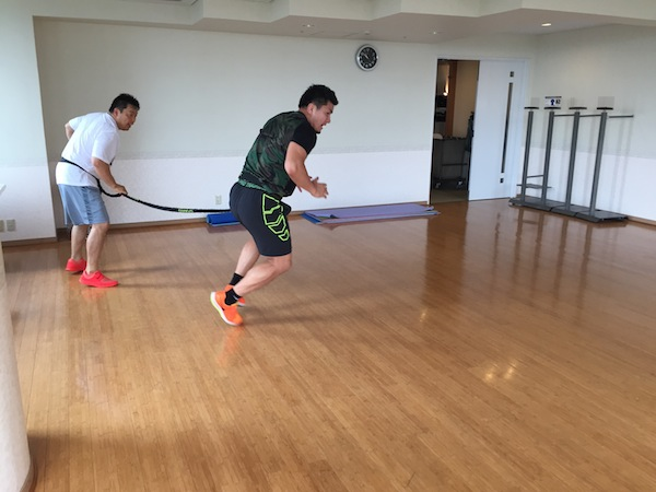 西原選手 SPARQ トレーニング@シーガイアリゾート