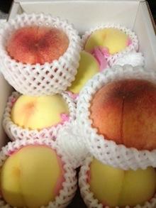 世界一好きな桃